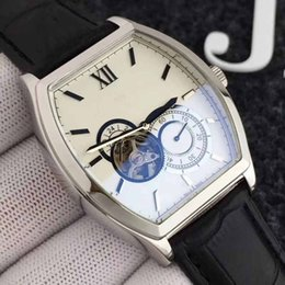 Wholesale character pins - 2018 Fine Men's Automatic Mechanical Watch. Classic Two-handed and Half-equipped with Unique Cutouts. Five-character Small Seconds.Top AAA+