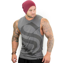 d8cf8cbad3e9 Mens summer Fitness bodybuilding Tank Tops gyms workout Sleeveless shirts  Fashion cotton vest undershirt male Sportswear