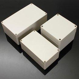 boite imperméable abs en plastique Promotion haute qaulity Rectangulaire Forme Boîtier D'alimentation Électronique En Plastique ABS ABS WBox