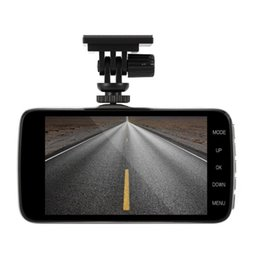 Gravador de dados de viagem de veículo on-line-10 pcs Novo 4 Polegada Viceo Gravador DVR Carro Câmera Full HD 1080 P Veículo de Viagem Data Gravador de 150 Graus de lente de Visão Noturna Tacógrafo