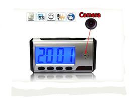 Vente en gros de réveil numérique caméra vidéo DVR caméscope télécommande horloge DVR ? partir de fabricateur