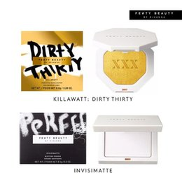 Wholesale Blot Powder - 2018 New Fenty Beauty by Rihanna Highlighter Killawatt Dirty Thirty Birthday Limited Edition Invisimatte Blotting Face Powder Free Shipping