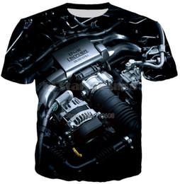 Реверсивные майки оптом онлайн-2018 Модные мужские 3D печатные футболки Homme Tees Tops Высококачественные оптовые моды Dropship Hip Hop Cool Shirts S-XXXXXXL U178