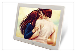 Wholesale Digital Photo Frame Sd - Free shipping Digital Photo Frames 7inch TFT LCD Wide Screen Desktop Digital Photo Frame glass Photo Frame