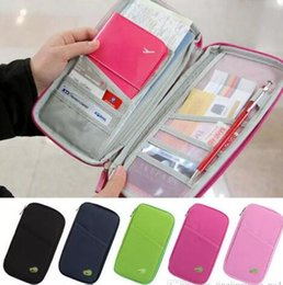 Wholesale Credit Card Storage - Passport Holder Ticket Wallet Handbag ID Credit Card Storage Bag Travel passport Wallet Holder Organizer Purse Bag