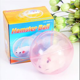 Wholesale ball run toy - Funny! Electronic Running Hamster ball toy children Interesting Hamster pet Educational Gifts