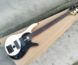 Guitare basse électrique 5 cordes avec motif Taiji, touche en palissandre, accessoires noirs, offre personnalisée ? partir de fabricateur