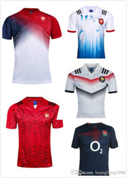 Wholesale Free England Shirt - free shipping 17 18 France England RLWC Scotland Wales rugby jersey 2017 home rugby shirts IRISH Ireland jerseys Best quality adult S~XXXL