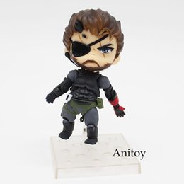 Wholesale venom figures - gear solid Metal Gear Solid V The Phantom Pain Snake 565# Venom Snake Sneaking Suit Ver. PVC Action Figure Collectible Model Toy 10cmKT3442