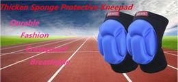rodilleras de baile Rebajas 2018 Barato Guardia de la rodilla Deportes al aire libre Protección contra choques Esponja Acolchada Rodillera Baile Rodillas Algodón Rodilleras Protector Protector