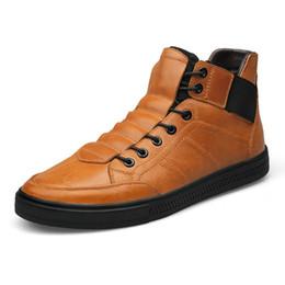 938b0d64c656 Hight Qualität 100% Echtem Leder Männer Stiefeletten Italienische Echtes Leder  Männer Stiefel Schwarz Winter Schuhe mit Pelz HH-114