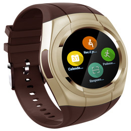 Wholesale Vehicle Ratings - Smartch T60 Smart Watch Round Nano SIM TF Card With Whatsapp Facebook fitness Business Smartwatch For Android Vs gt08 Pk DZ09