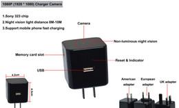 Canada 2018 Vente chaude 175 degrés Noir High Tech HD 1080p wifi Caméscope numérique wifi caméra chargeur usb charge caméra Offre