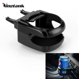hot drink cup holders Coupons - Vingtank 2017 Hot Car Air Condition Vent Outlet Can Water Bottle Cup Mount Holder Universal Auto Drink Holder Car Organizer