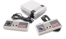 Argentina Nueva Llegada de 8 bits Mini Video Game Console Video Portátil para consolas de juegos NES con cajas al por menor envío gratis LLFA Suministro