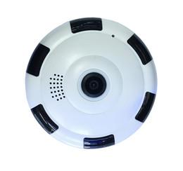 vídeo sem fio de movimento Desconto 360 Graus 3D VR Panorama Câmera Câmera IP Sem Fio Home Security Monitor de Visão Noturna Detecção de Movimento de Vídeo VR Cam
