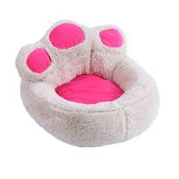 Luxus-hundehäuser online-Hunde Haus Rosa Hundebett Kleine Große Matratze Schlafsack Hause Sofa Pet Kissen Betten für Katzen Mat Chihuahua Luxus Kennel Cover Zelt