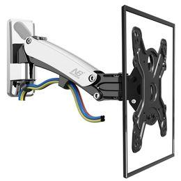 Wholesale full free lift - NB F400 TV Wall Mount Swivel 50-60 inch Monitor Arm Holder Gas Spring Free Lift Full Motion Aluminum Alloy Rotating VESA Stand