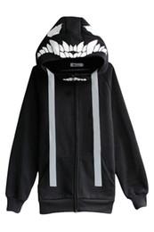 Wholesale mask hoodies - Unisex Kawaii Anime Kantai Collection Hoodie Shimakaze WO Mask Hoodie jacket Coat Halloween Cosplay