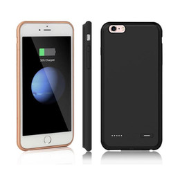 Wholesale battery pack case for iphone - External Battery Power Bank Charger Case Pack For iPhone 6 6s 7 8 Plus charger case