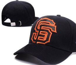 Wholesale fashion giants - New Brand designing Giants Hats Men Women Baseball Caps Snapback Solid Colors Cotton Bone European American Styles Fashion hat