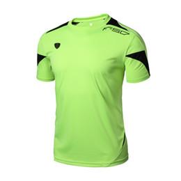 FANNAI 2018 Camiseta de hombre Transpirable de secado rápido Ropa deportiva para correr Hombre Traviesa Manga corta Camisetas Hombre Tops Nueva llegada desde fabricantes