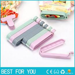 12pcs / set clips de sac Househoud Snack Fresh Food sac de stockage Sealer cuisine outil accessoires Mini Vacuum Sealer Clamp Food Clip ? partir de fabricateur