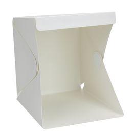 schnelle schlinge kamera Rabatt room photo Tragbare Raumfotobox mit LED-Licht Mini Studio Acryl Softbox Fotografie Tischplatten Zelt mit Kulissen-Kit