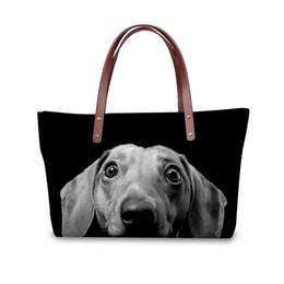 19b600fa926c WHOSEPET Handbag Women 3D Dog Paern Top-handle Bags Cute Animal Print Shoulder  Bag Ladies Messenger Bag Daily Clutch Bags 2018