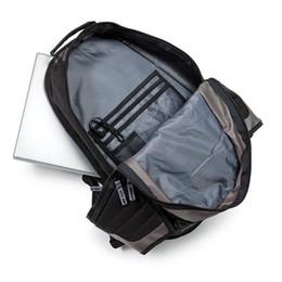 Карман для ремня рюкзака онлайн-Оба плеча рюкзак компьютер рюкзак на открытом воздухе студенты досуг двойной карман на молнии затянуть дизайн Deadpoor Orsal ремень 48kd cc