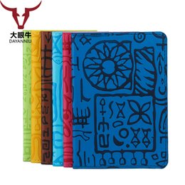 Wholesale Mark Pu Leather - High Quality Women Passport Cover Egypt Mark Words Waterproof Scratch Card Holder PU Leather Travel Passport Holder