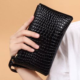 Wholesale Black Leather Designer Handbags Sale - 2018 Hot Sale High Quality Fashion Pu Leather Women Clutch Bags Handbags Purse Designer Free Shipping Wholesale