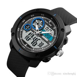 4d1df3f4d656 SKMEI 1361 Reloj de los hombres militares Reloj deportivo a prueba de agua  para hombres Relojes de primeras marcas Electrónica LED Reloj de pulsera  digital ...
