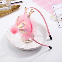 розовая корона Скидка Химера детская вечеринка оголовье прекрасный розовый шифон фестиваль Hat Hairbands тиара Корона головные уборы для Хэллоуина Рождество