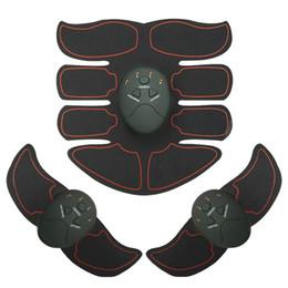 masajeador estimulador Rebajas Body Slimming Fitness Massager Suit Multi EMS Abdominal Muscle Trainer Electronic Muscle Stimulator ejercitador máquina