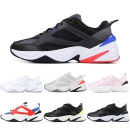 huge selection of a66e8 91507 Nike Air Monarch M2K Tekno Papa Chaussures De Course Noir Volt John Elliott  Paris Fantôme Rose Blanc Femmes Sport Baskets 36-45 Vente En Gros Dropship