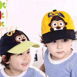 3f82b19bd9f8d Baby Baseball Cartoon Caps Baby Hats Children Infant Gorras Head Beanies  Bebe s Kids Caps Photography Prop Headwear