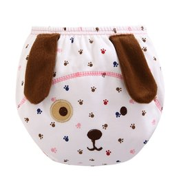 Wholesale Toddler Cloth Nappies - 3Pcs Baby Diapers Reusable Nappies 3 Layers Cloth Diaper Nappy Washable Toddler Girl Boys Waterproof Cotton Potty Training Pants