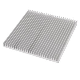 Wholesale Led Aluminum Heatsink - 1 piece Silver 80x80x7mm Aluminum Heat Sink Radiator Heatsink for IC LED Cooling, Electronic Cooler, Chipset heat dissipation