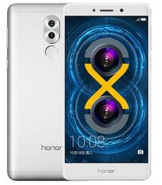 Huawei 5.5 32gb en Ligne-Huawei Honor 6X d'origine Kirin 655 octa core 3 Go / 32 Go 5.5 pouces 12MP double caméra de recul dual sim 4G LTE