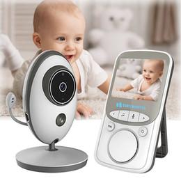 video babysitter Sconti Wireless LCD Audio Video Baby Monitor Radio Nanny Musica Interfono IR 24h Telecamera portatile per bambini Baby Walkie Talkie Babysitter Telecamera di sicurezza
