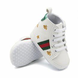 2019 meias de borracha de borracha atacado 17 Estilos de Sapatos de Fundo Macio Do Bebê Sapatos Da Moda Do Bebê Das Meninas Dos Meninos Primeiros Caminhantes Infantil Não-slip Criança Sapatos Casuais Crianças