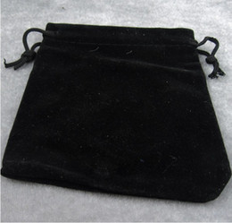 Pas cher Hot velvet bijoux pochettes bracelet noir bracelet bracelets petits sacs sachets gros 10x12cm ? partir de fabricateur