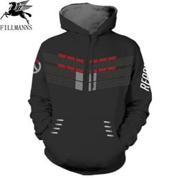 2019 assassins hoodie FILLMANNS Assassins creed Hoodie Männer 3d Sweatshirts Hombre Frühling Cosplay Chadal Hooded Hoodies dünne Unisex Pullover Tops günstig assassins hoodie