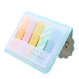 1 PC Mignon Kawaii Bonbons Colorés Bâton Marqueurs Livre Page Index Drapeau Notes Autocollantes Mémo Pad Paster Autocollants Fournitures Scolaires De Bureau ? partir de fabricateur