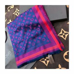 Alta calidad de otoño e invierno de lana teñido patrón de lana de moda hombres y mujeres bufanda envío gratis desde fabricantes