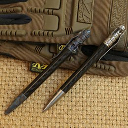 Wholesale Tactical Multi Pen - MG carbon fiber titanium Drill Rod tactical pen camping outdoors survival practical EDC MULTI utility write pens tools
