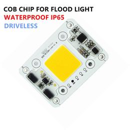 3mm geführtes super helles weiß Rabatt Heiße Verkaufs-50W COB LED-Flutlicht Chip Driverless cob LED-Licht für die Außenbeleuchtung AC110V 220V