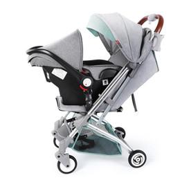 vecchio paesaggio Sconti Carrozzina pieghevole per passeggini alta paesaggio per 0-6 anni passeggino per bambini Carrelli per bambini di alta qualità