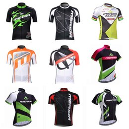 Wholesale merida team - team merida bike jersey mens summer quick dry cycling top 100% polyester Ropa Ciclismo short sleeve bicycle C1333